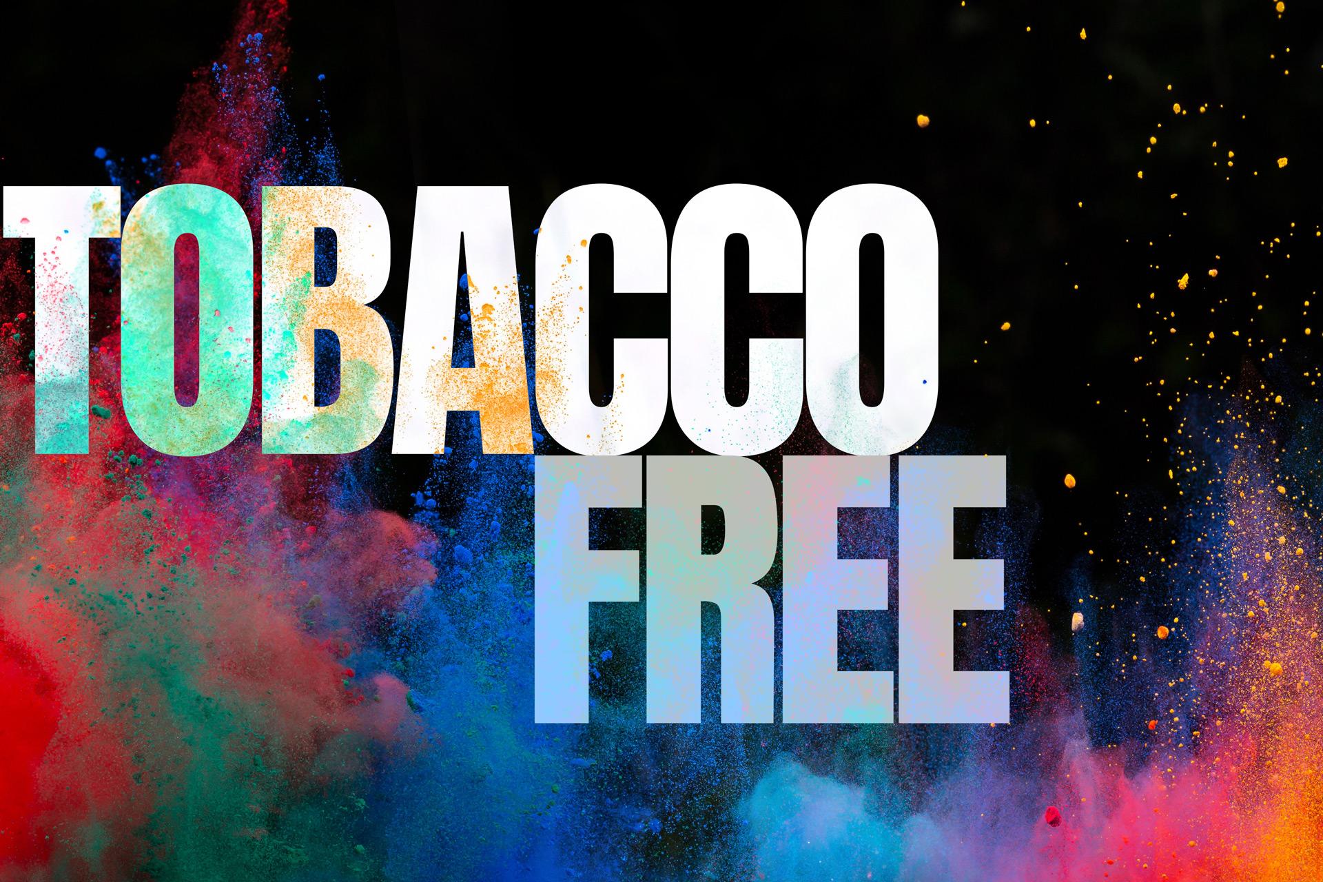 Tobacco Free Slider Image